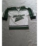 NIKE Michigan State Embroidered Hockey Jersey Men Small - $69.29