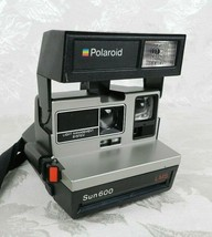 Polaroid Sun 600 Instant Camera LMS Light Management System Strap WORKS - $21.77