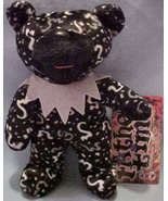 """GRATEFUL DEAD  FATHER TIME 7""""   PLUSH BEAN BEAR WITH NAME TAG  - $12.99"""