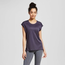 c9 Champion women's Mesh Run T-shirt Indigo Screen Gray - $4.45