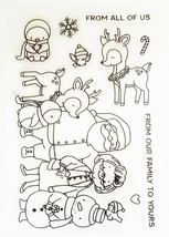 """Holiday Stamp Set """"From Our Family to Yours"""" with Matching Dies - Card Making image 2"""