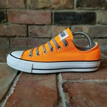 Converse Chuck Taylor All Star Ox Low Neon Orange 131275F Womens 8 Classics - $46.72