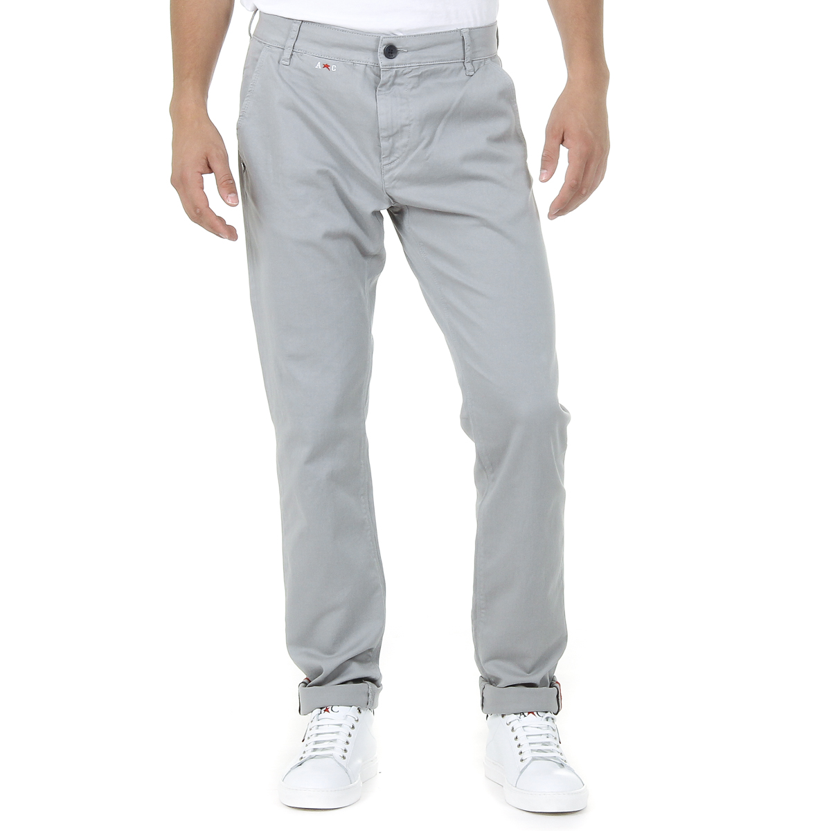 Primary image for Andrew Charles Mens Pants Light Grey AMARA