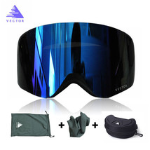 Ski Goggles Double Lens UV400 Anti-fog Eyewear Snow Glasses Snowboard - $37.60