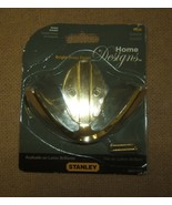 Stanley 3in Modern Double Robe S807-073 Bright Brass Finish V8010 - $7.21