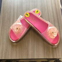 Women's Kate Spade Pink Glitter Slide Sandals Size sz 9 - $47.30