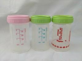 Playtex Nurser Drop in Bottles 4 oz Lot of 3 No Lids #16 No Nipples - $19.95
