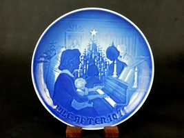 Christmas At Home ~ Bing & Grondahl Collector Plate, Jule-Aften 1971, #8... - $6.81