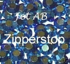 72 Swarovski Crystal Rhinestones ~ 30ss ~ Jet AB - $17.77