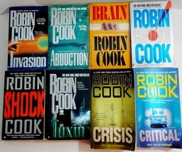 Robin Cook Medical Thriller Mysteries lot of 8 Paperbacks books 1979-2007 - $15.95