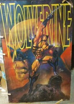 Wolverine Poster #147 Uncanny X-Men Marvel Press 1993 Mark Beachum - $74.25
