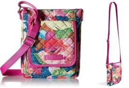 Vera Bradley Iconic RFID Mini Hipster Crossbody Bag Women's Handbag, Sup... - $29.65