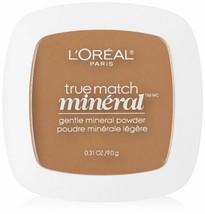 L'Oreal Paris True Match Mineral Pressed Powder, Classic Tan, 0.31 Ounce. - $9.64
