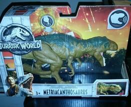 Jurassic World Metriacanthosaurus Roarisaur Dinosaur Mattel Action Figure - $21.78