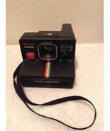 Polaroid Land Camera Time Zero One Step Vintage Camera Black - $21.97
