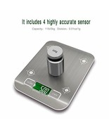 Digital Kitchen Scale Multifunction Food Scale 11 lb/5 kg Silver Stainle... - $12.99
