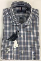 Tommy Hilfiger Men's Non Iron Regular Fit Spread Collar Plaid Dress Shir... - $25.91