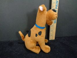 "Scooby Doo Where Are You TY Plush Stuffed Animal beanie Baby 7"" Brown Dog image 3"