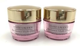2 x Estee Lauder Resilience Multi-Effect Tri-Peptide Creme SPF15 15ml*2=... - $38.73