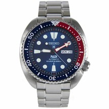 SEIKO 'JAPAN DIAL' SPECIAL EDITION PROSPEX PADI TURTLE DIVER'S WATCH SRPA21 - $341.55
