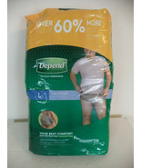 Depend Fit-Flex Underwear For Men. X Large. Quantity - 28 Count. - $23.27