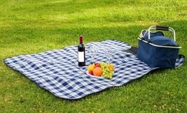"""Waterproof Picnic Blanket –  50"""" x 60"""" Large Beach Blanket Or Outdoor Pi... - €22,95 EUR"""