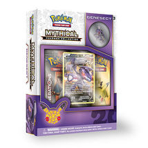 POKEMON Collection Pin Box (4): Mythical CELEBI, GENESECT, Mythical MEW, JIRACHI image 4