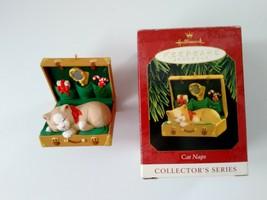 Hallmark Keepsake Cat Naps Ornament #4 in Collector's Series 1997 06205 - $12.86