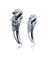 Men Wolf Head Charm Pure Sterling Silver Pendants Necklace Fashion Punk ... - $39.05+