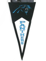 Carolina Panthers Blue Mini Wool Pennant Banner Flag Man Cave Decor NFL ... - $14.84