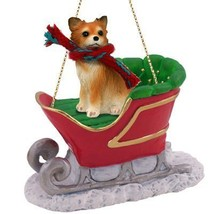 Conversation Concepts Chihuahua Longhaired Sleigh Ride Ornament - $18.99