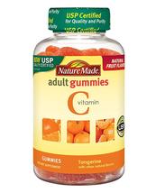 Nature Made Vitamin C Adult Gummies 250 mg 80 Ct Tangerine - $9.74