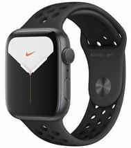 Apple Watch Nike S5 GPS 44mm Space Grey Alu/Black Band225/7411 - $731.75