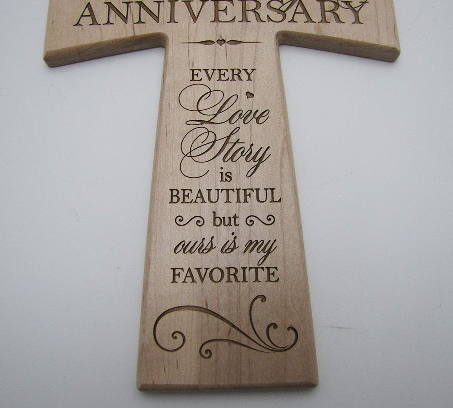 What Gift For 15th Wedding Anniversary: LifeSong Milestones 15th Wedding Anniversary Maple Wood