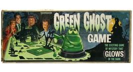 Vintage Transogram Green Ghost Glow in the Dark Monster Game Near Mint w... - $249.99