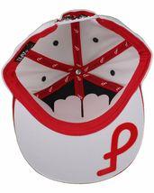Flat Fitty Do More Work Wiz Khalifa SnapBack Baseball Cap Hat Red White Blue NWT image 7