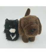 2 AMERICAN GIRL DOLL PETS CHOCOLATE CHIP DOG & LICORICE CAT STUFFED ANIM... - $23.38