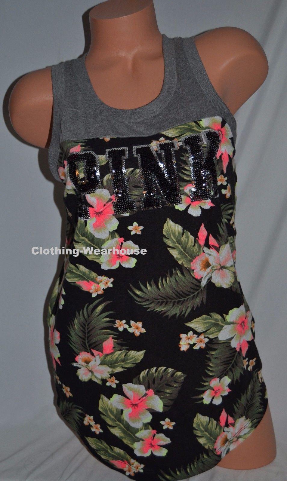 076ccd93c8ed1 Victoria's Secret PINK Rib Neck Tank Top and 50 similar items