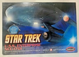 STAR TREK U.S.S. Enterpise NCC-1701 Polar Lights 1:1000 Model Kit -2008 - $30.68