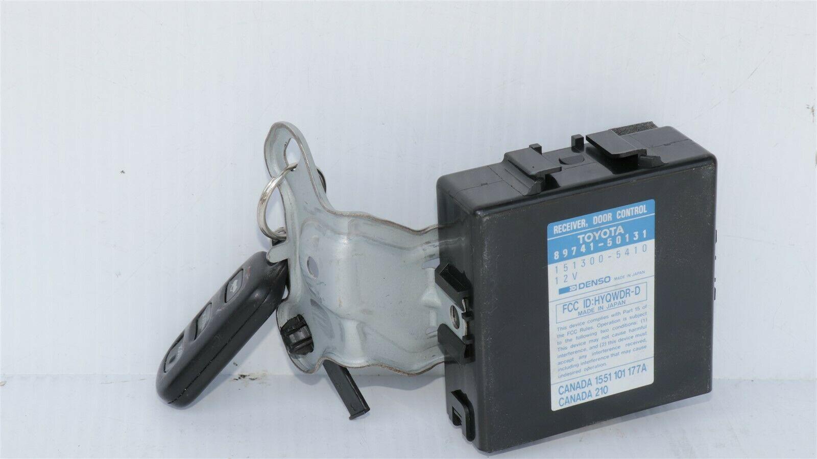 95-97 LS400 DCR Keyless Entry Door Control Receiver Module & Fob 89741-50131