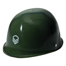 Child's Plastic Army Soldier Sergeant Military Helmet Hat Costume Accessory - €11,29 EUR