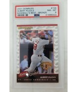 2001 Donruss Rated Rookie #156 Albert Pujols RC #156 NM-MT 8 - $98.99