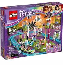 LEGO Friends Amusement Park Roller Coaster 41130 [New] Building Toy Set - $197.88