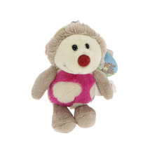NICI Hedgehog Harriet Stuffed Animal Plush Beanbag Key Chain 4 inches - $11.99