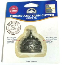 DMC Thread and Yard 2-in1 Cutter Vintage Collection 6120/3 Cut All Yarn ... - $12.71