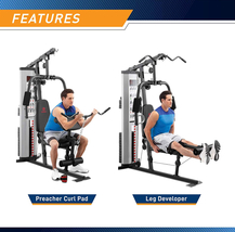 Marcy Pro MWM-988 Gym System 150 lbs Adjustable Weight Stack - Ready to Ship image 4