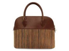HERMES Bolide 35 Vibrate Brown Handbag Shoulder Bag #D Authentic 5473007 image 3