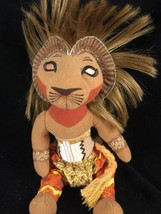 "Disney Store The Lion King Simba Bean Bag 12"" Plush Doll  on Broadway - $9.99"