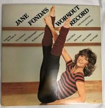 Jane Fondas Workout Record 1982 Fitness LP Record The Jacksons REO Speed... - £11.72 GBP
