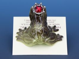 Birthstone Frog Prince Kissing July Ruby Miniatures by Hagen-Renaker image 4